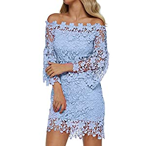 Off-Shoulder Floral Midi Dress