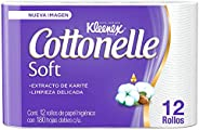 Kleenex Cottonelle Soft. Papel Higiénico, 12 rollos