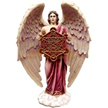 Ebros Metatron Judaism Angel Statue Highest Order Enoch Divine Presence Decor Figurine In Vivid Colors
