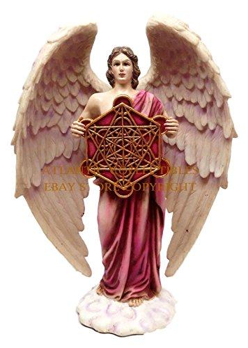 Ebros Metatron Judaism Angel Statue Highest Order Enoch Divine Presence Decor Figurine in Vivid Colors