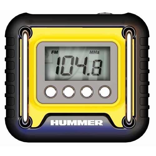 Koolatron HUMMER PORTABLE RADIO w/DIGITAL SCAN by Koolatron
