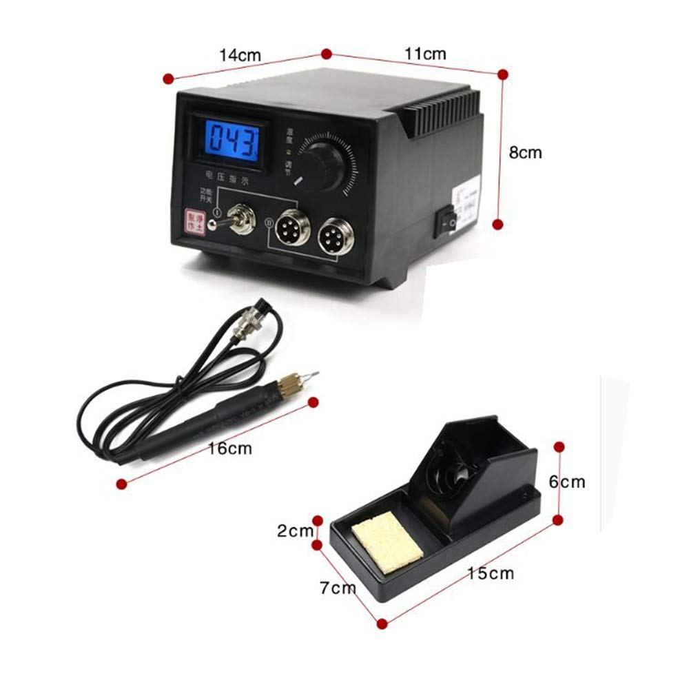 Wood Burning Kit 60-Watt Wood Burners with 20 Pyrography Wire Tips Adjustable Temperature Control for Wood Leather and Gourd (Dual Port+Digital Display) by Beacon Pet (Image #7)