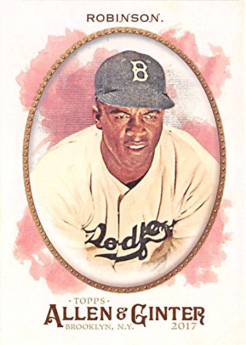 Baseball MLB 2017 Allen and Ginter #152 Jackie Robinson Dodgers
