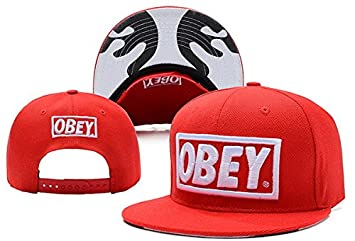 41f8a4b319d Image Unavailable. Image not available for. Colour  OBEY Hip Hop Streetwear  Brands 3D Undervisor And Logo Snapback Hat Cap