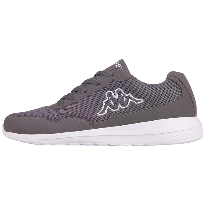 Kappa Follow Sneakers Damen herren Unisex Grau/Weiß