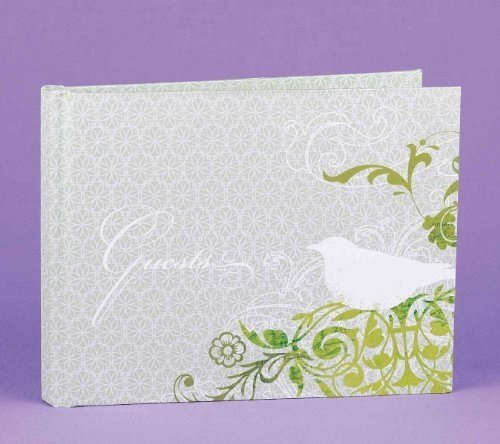Harmony Bird Dove Whimsical Guest Book Harmony Guest Book