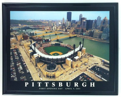 Framed Baseball Pittsburgh Pirates PNC Park Wall Art Print F7524A