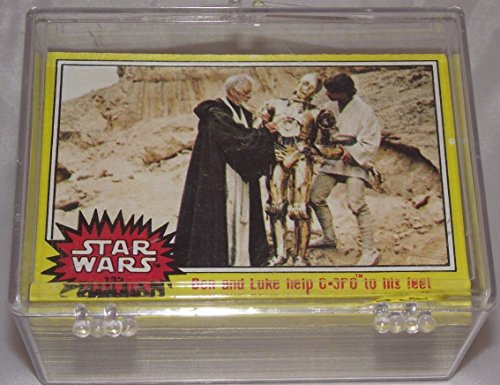 Star Wars Vintage 1977 Yellow Series 3 Trading Cards Complete 66 Card Base -