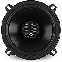 NVX 5 1/4 inch True 80 watt RMS 2-Way Coaxial Car Speakers [V-Series] with Silk Dome Tweeters, Set of 2 [VSP525]