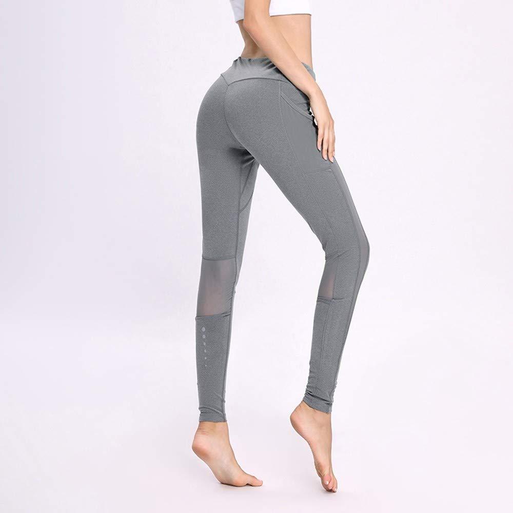RYFBRE Yogahosen Leggings Yoga Hosen Frauen Laufen
