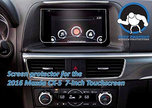 Tuff Protect Anti-glare Screen Protectors For 2016 Mazda CX-5 Car Navigation Screen
