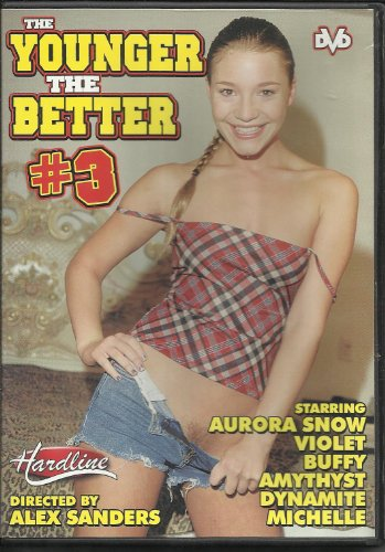 THE YOUNGER THE BETTER #3 DVD AURORA SNOW