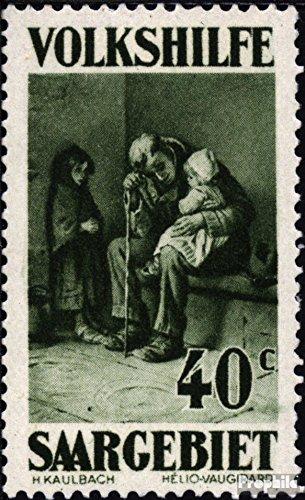 Prophila Collection Saarland 135-141 (kompl.Ausg.) 1929 Volkshilfe: Gemälde (II) (Briefmarken für Sammler) Malerei