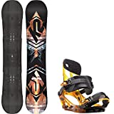 K2 Subculture 150 Mens Snowboard + K2 Hurrithane Bindings - Fits US Mens Boots Sized: 8,9,10