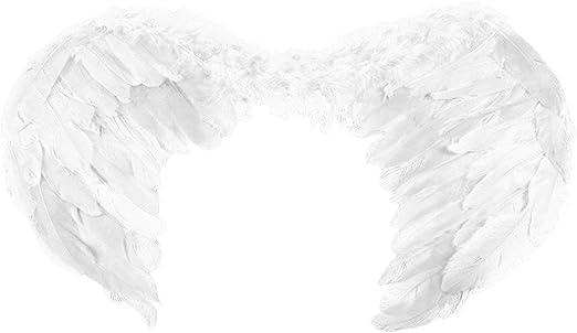Disfraz Hada nuevo partido alas del ángel de la pluma de ...