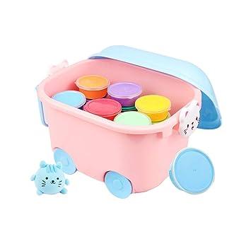 Toyvian Kit de Arcilla Seca al Aire de 24 Colores Horno de ...