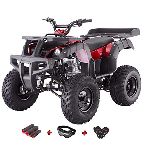 Adult 4 Wheeler (X-Pro 250cc ATV Quad Four Wheelers 250 Utility ATV Full Size ATV Quad Adult ATVs with Gloves, Goggle and Handgrip)