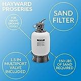 Hayward W3S210T93S ProSeries 21-Inch 1.5 HP Sand