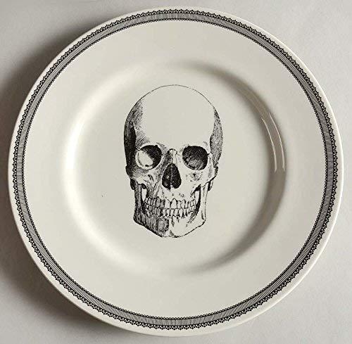 Royal Stafford Halloween Skull Dinnerware - Set of 4 (Skull Dinner Plates)