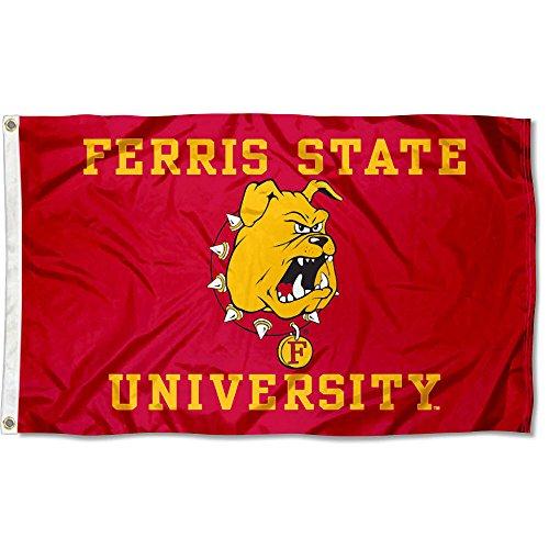 (Ferris State FSU Bulldogs Flag 3x5 Banner)