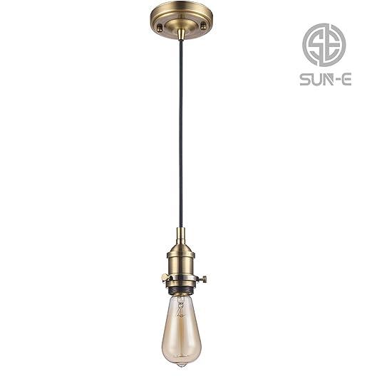 Antico Lampada A Sun Vintage SospensioneRetro Edison E 8OPknw0