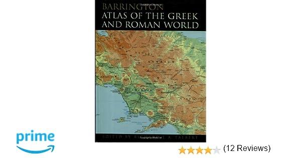 Amazon barrington atlas of the greek and roman world amazon barrington atlas of the greek and roman world 9780691031699 richard ja talbert books gumiabroncs Images