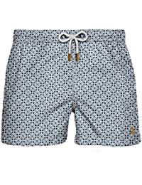 Straight-leg swim shorts Retromarine New York