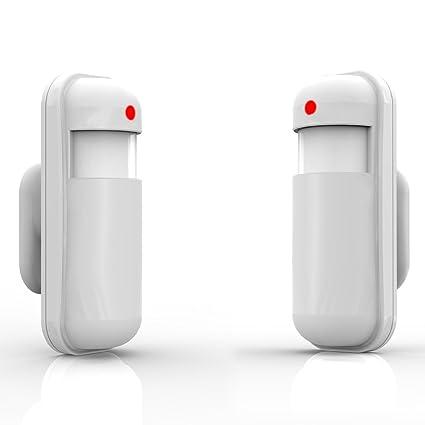ekugo (TM) Smart Casa sistema de seguridad inalámbrica PIR Detector de movimiento por infrarrojos