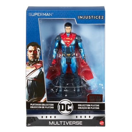 DC Multiverse Collection Platinum. Superman INJUSTICE 2.