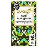 Pukka Organic Fairtrade Mint Green Tea (20) - Pack of 6