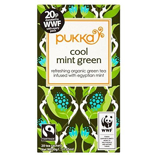 Pukka Organic Fairtrade Mint Green Tea (20)