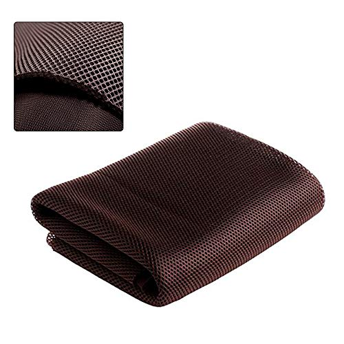 Stereo Speaker Repair - NOMACY Brown Speaker Grill Cloth Stereo Mesh Fabric for Speaker Repair - 140x50cm ...