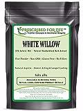 White Willow - 25% Salicin (HLC) - Natural Bark Extract Powder (Salix alba), 1 kg