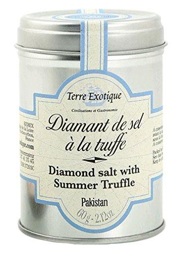 Terre Exotique Diamond Salt with Italian White Truffles 2.2 Oz Ifaty Madagascar ()