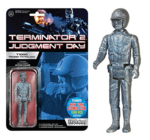 2015 NYCC Funko Reaction Terminator 2 Judgement Day Frozen Blue T1000 Patrolman