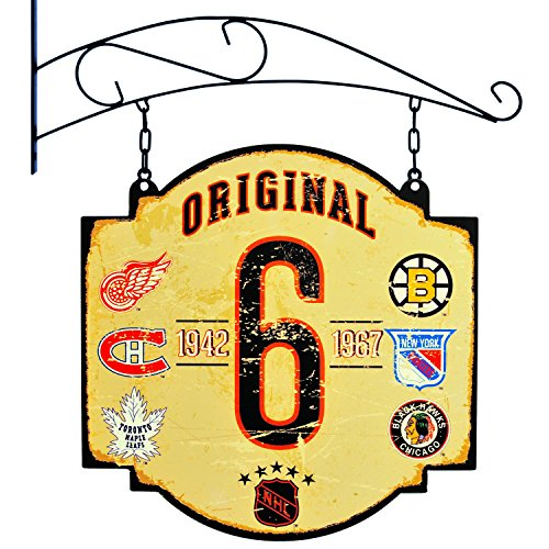Winning Streak NHL Original Six Vintage Tavern Sign