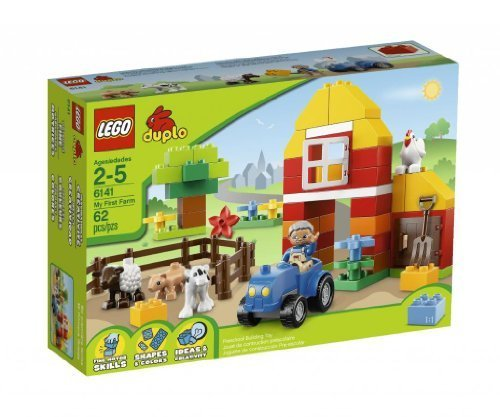 Toy / Game Lego Brick Unique Themes Duplo My First Farm 6141 - To Help Children Develop Role Play Skills