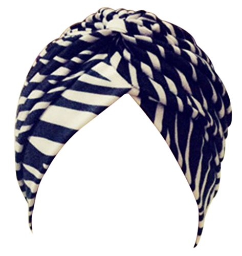 EachWell Pleated Ruffle Stretch Turban product image