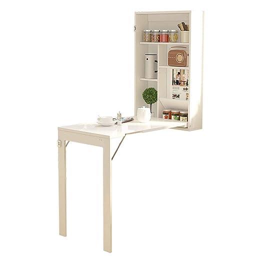 Mesa Plegable Convertible montada en la Pared Cocina Mesa de ...