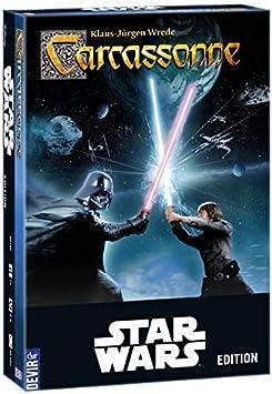 Devir - Carcassonne, versión Star Wars - juego de mesa (Devir ...