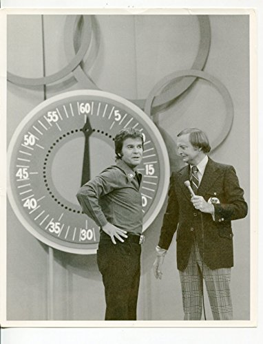 MOVIE PHOTO: Beat The Clock-Gene Woods-Dick Clark-8x10-B&W-Still -