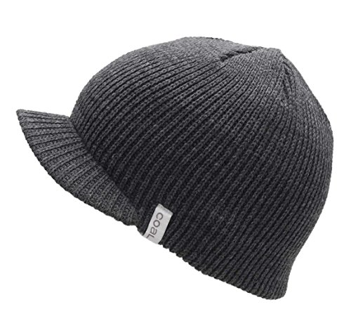 Coal Men's The Basic Visor Beanie Charcoal ()