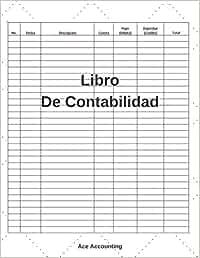 Libro De Contabilidad: Un Simple Libro De Contabilidad