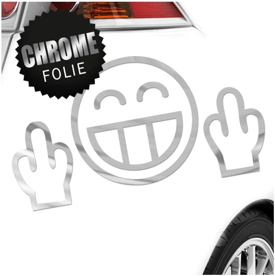 Kiwistar Fuck You 17 X 9 Cm In 15 Farben Neon Chrom Jdm Sticker Aufkleber Auto