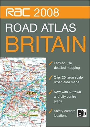 Rac Road Map Rac Road Atlas Britain. (RAC Atlases): 9780007796991: Amazon.