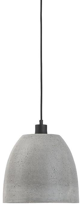 It s about Romi Málaga lámpara de techo cemento, L, E27 40 ...