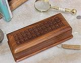 Product review for Secret Locking Box Rectangular Storage Indian Sheesham Wood Handmade Keepsake