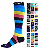 Compression Socks (1 pair) for Women & Men by