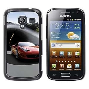 Stuss Case / Funda Carcasa protectora - Italiano supercar - Samsung Galaxy Ace 2