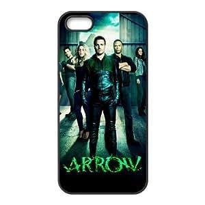 C-EUR Diy Green Arrow Hard Back Case for Iphone 5 5g 5s